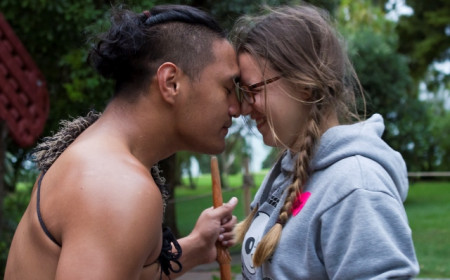 10 March Hongi Virgin Waitangi Treaty Grounds By Stefanie Thorne Waitangi Treaty Grounds entry 2